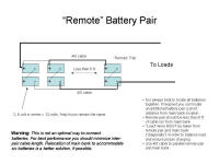 Battery Connections - Remote Pair.jpg (79381 bytes)